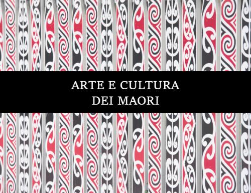 Arte e Cultura dei Maori